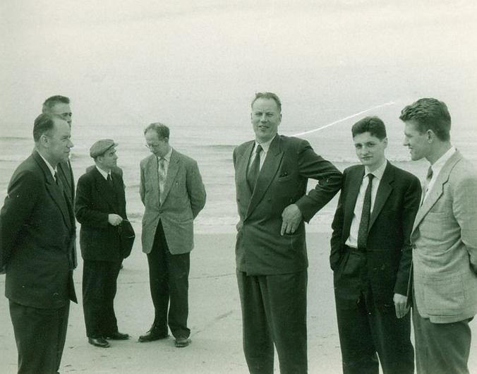 Tijdens een bezoek van enkele broeders uit Noorwegen aan Nederland in 1958